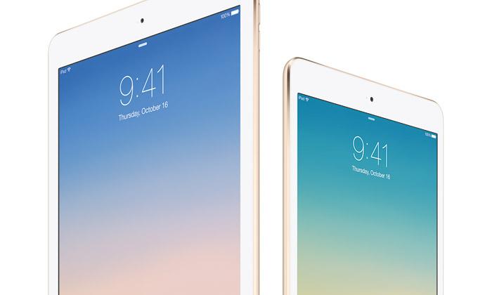 Apple uvádí nové tablety iPad Air 2 aiPad mini 3