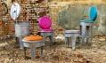 Kolekce nábytku z popelnic BINS od Fabrika Design
