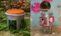 Kolekce nábytku z popelnic BINS od Design Fabrika