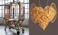Exponáty vystavené v Art House v rámci designérské přehlídky Designblok 2014