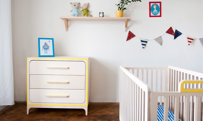 Nábytek a doplňky pro děti Devoto na Prague Design Week 2014
