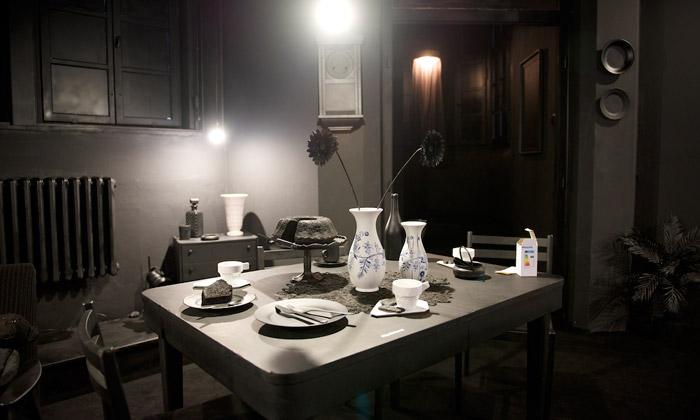 Plzeňští studenti vytvořili naDesignbloku černý byt