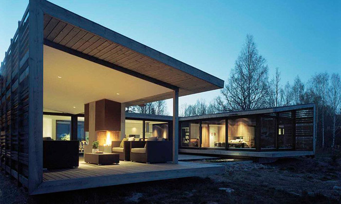 H-House chrání vůči drsnému švédskému podnebí
