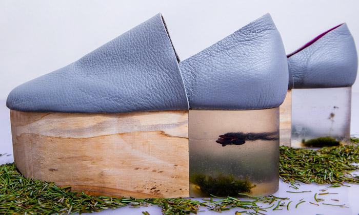 Čapková ukáže své Naturity naPrague Design Week