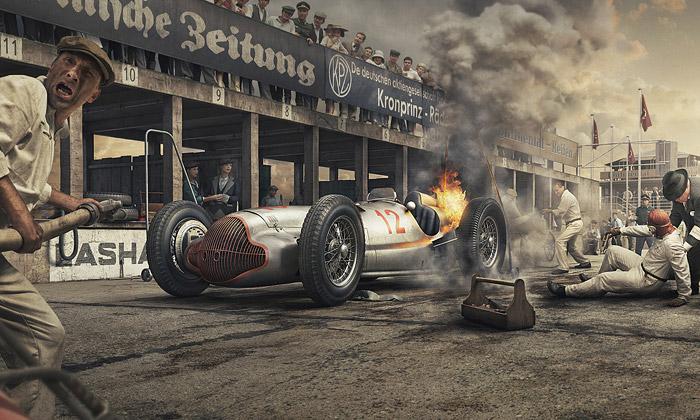 Silver Arrows Project připomíná legendární závody