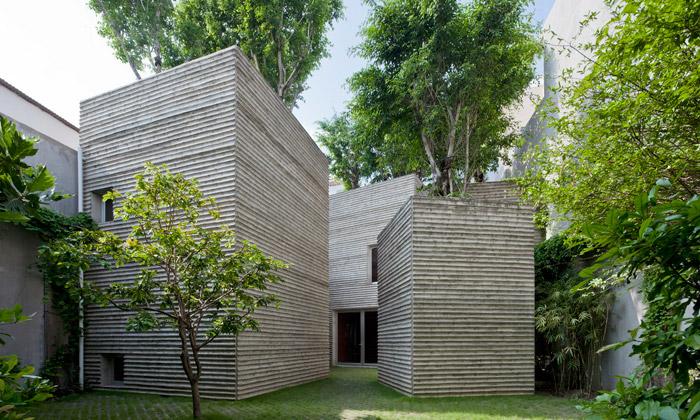 House for Trees jedům zbloků sestromy nastřeše