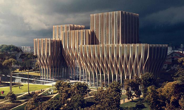 Zaha Hadid postaví vKambodži památník genocidy