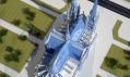 Katedrála Notre-Dame v Paříži v designu 21. století podle Vasily Klyukina