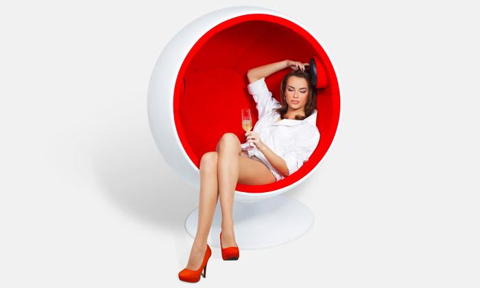 Ball Chair ječeské křeslo určené kpráci irelaxaci