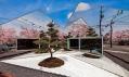 Kavárna Mirrors odBandesgin vJaponsku