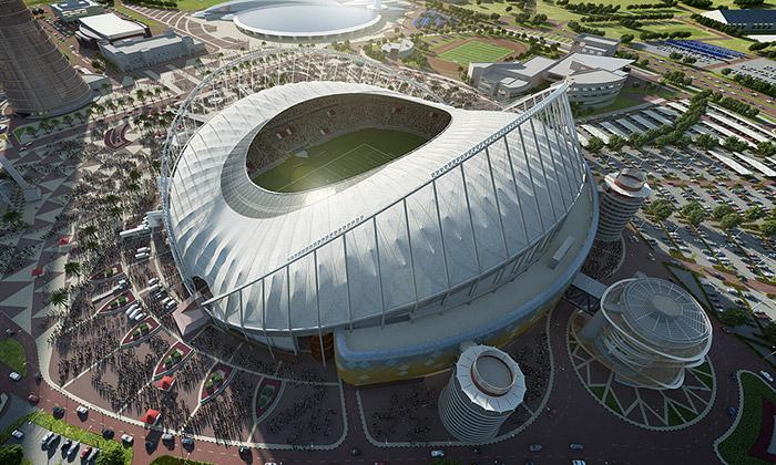 Katar staví klimatizovaný fotbalový stadion Khalifa