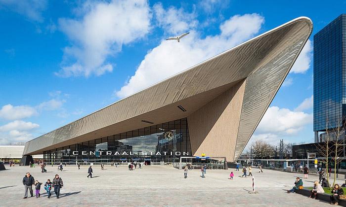 Nádraží Rotterdam Centraal získalo prestižní cenu