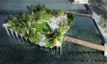 Molo jako park Pier 55 v New Yorku od Heatherwick Studio