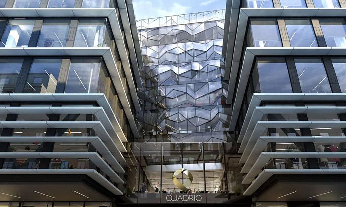 Národní třída otevřela obchodní centrum Quadrio