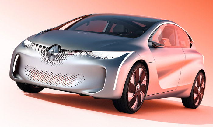 Renault představil futuristický iekologický Eolab