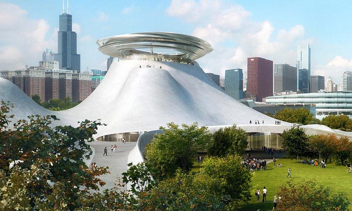 MAD navrhli futuristické muzeum pro George Lucase