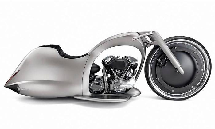 Akrapovič uvádí futuristickou motorku Full Moon