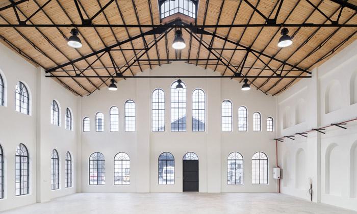 Nej české architektonické konverze vystavuje GJF
