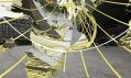 Líbající se zeměkoule od Olafura Eliassona v Rotterdamu