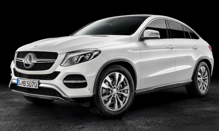 Mercedes-Benz GLE Coupé jevelké elegantní SUV