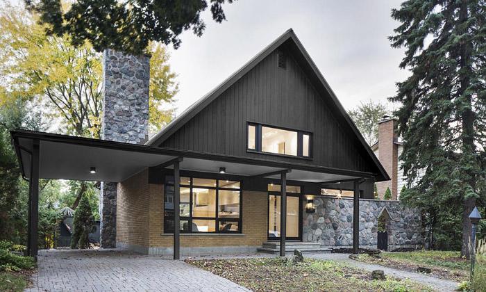 Kanadský dům z60.let si přestavěli vmoderní sídlo