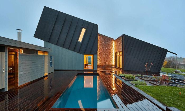 Snøhetta postavila první dům bez ekologické zátěže