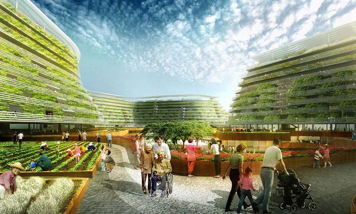 Homefarm propojuje městské bydlení sfarmařením