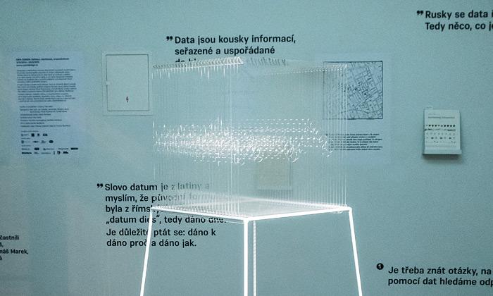 Výstava Data Design zkoumá práci designerů sdaty