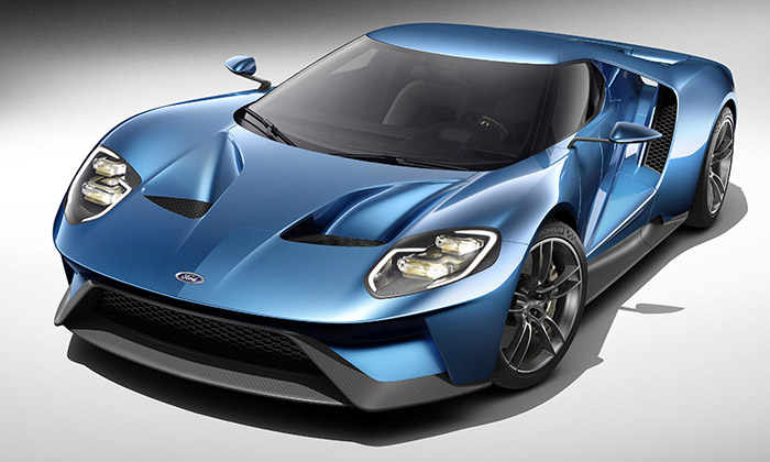 Legendární supersport Ford GT dostal nový design