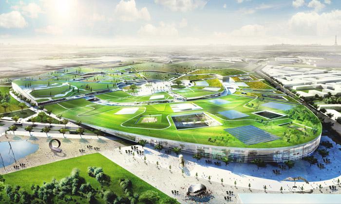BIG postaví naseveru Paříže gigantické Europa City