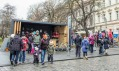 Kontejner K světu v Plzni v rámci akce Evropské hlavního město kultury 2015