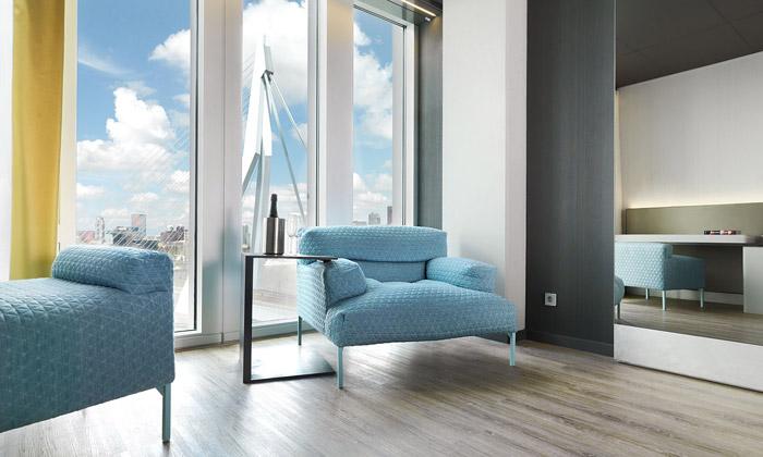 Hotel vDe Rotterdam dostal ocenění za svůj design