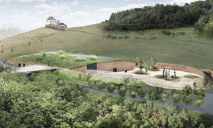 Zoo Praha postaví nový pavilon goril podle ABM
