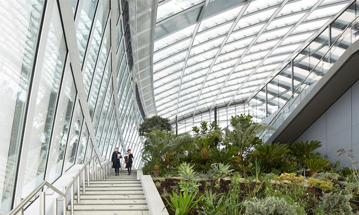Londýnský mrakodrap otevřel nebeskou zahradu