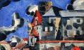 Ukázda děl zvýstavy Vlastislav Hofman. Architekt nebo malíř?