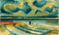 Ukázka děl z výstavy Vlastislav Hofman. Architekt nebo malíř?