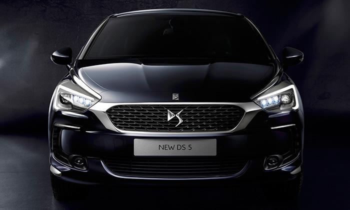 DS 5 dostalo nový design již bez znaku Citroën