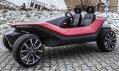 Elektromobil Yo! studentů Fakulty designu aumění Ladislava Sutnara