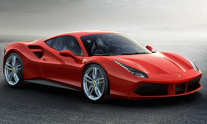 Ferrari 488 GTB dostalo elegantní design a670 koní