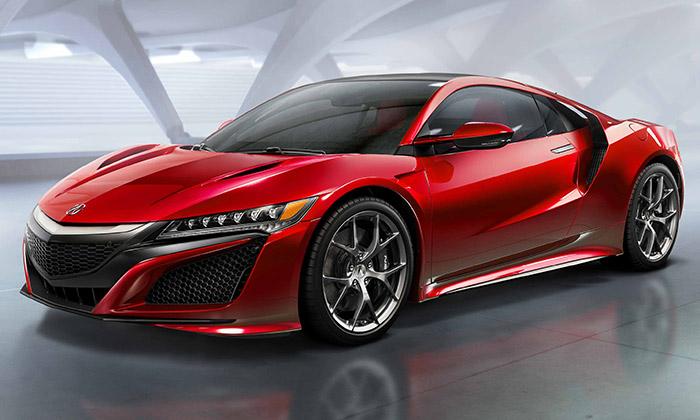 Legendární Honda NSX sevrací vmoderním designu