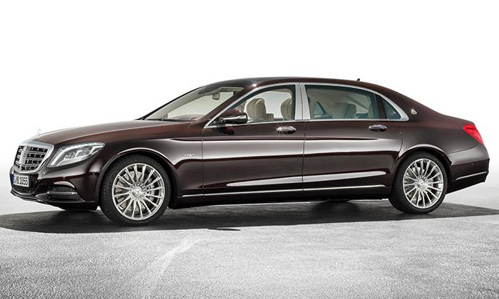 Luxusní Mercedes-Maybach sevrací modelem třídy S