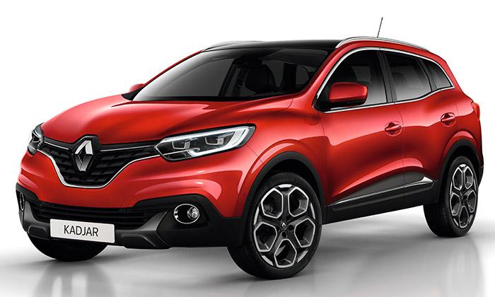 Renault Kadjar jeSUV sázející navýrazný design