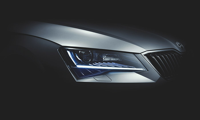 Škoda Superb poodhalila svůj design třetí generace