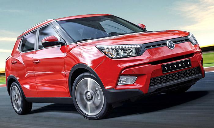 SsangYong mění design auvádí SUV jménem Tivoli