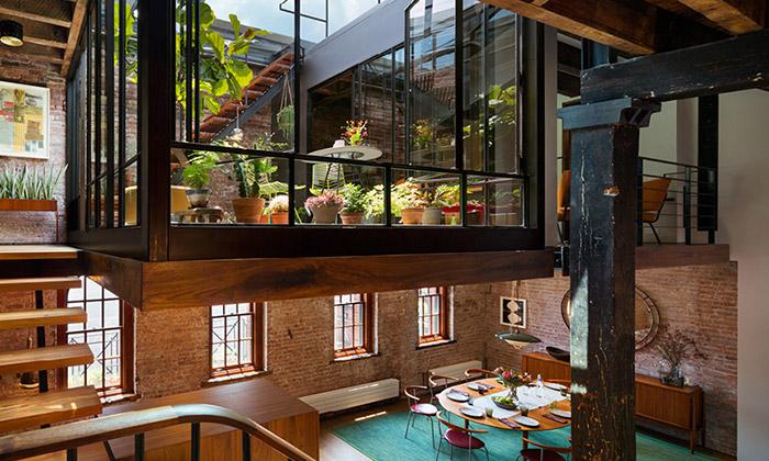 Starý newyorský sklad přeměněn naTribeca Loft