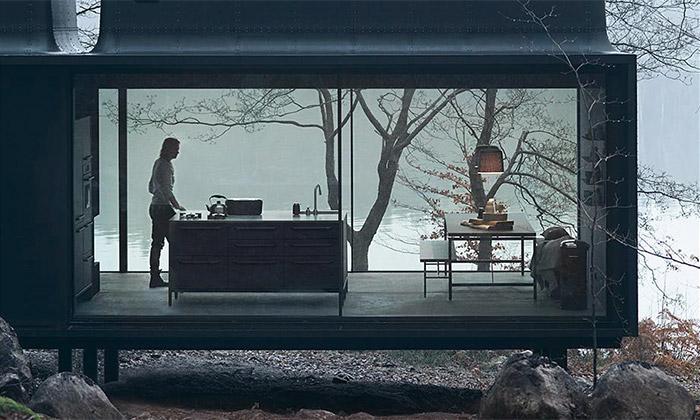 Vipp Shelter jeprefabrikovaný minimalistický dům