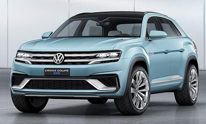 Volkswagen představil koncept Cross Coupé GTE