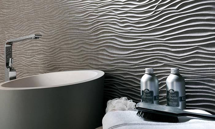Ukázka 3D okladů z veletrhu keramiky Cevisama