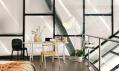Pokoj od Airbnb na skokanském můstku Holmenkollen v Norsku