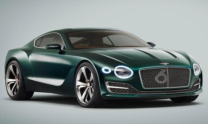 Bentley ukázalo sportovní kupé EXP 10 Speed 6